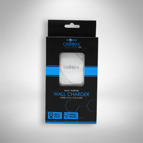 Cellex-Multipurpose-Wall-Charger-Front
